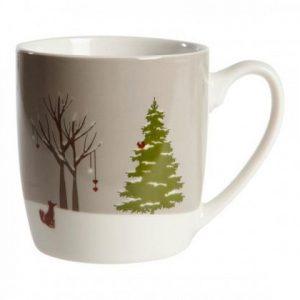 Julekrus, Christmas Nature grå